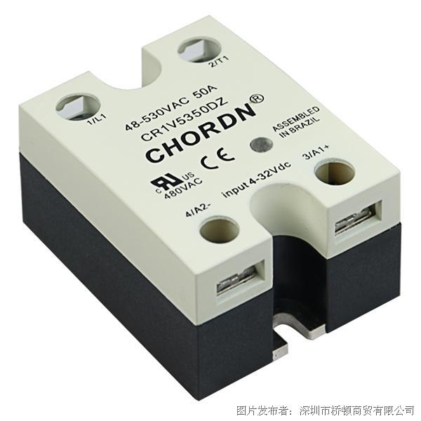意大利桥顿CHORDN CR1V交流单相固态继电器