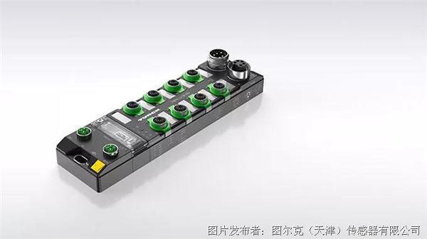 图尔克 高速响应的管理型以太网交换机TBEN-L-SE-M2