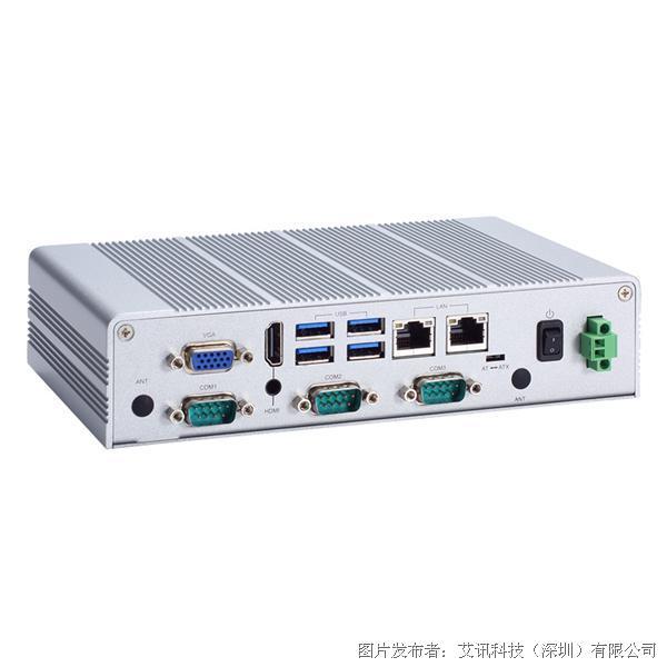 艾訊科技eBOX626-311-FL無風扇嵌入式系統