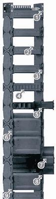 易格斯 E4.1L轻型系列拖链-E4.48L系列
