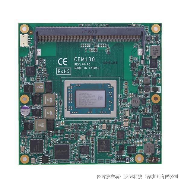 艾讯科技低功耗高绘图模块CEM130