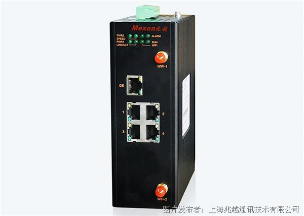 兆越MCS-8020 卡轨式工业安全路由器