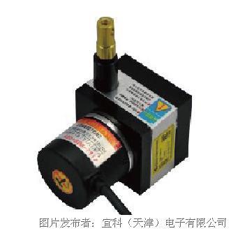 宜科 全金属封装微型拉线编码器KDM系列