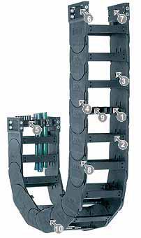 易格斯 拖链E4/轻型拖链-14240系列