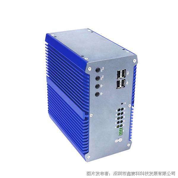 研凌IBOX-301 J1900四核处理器  多扩展槽无风扇工业计算机