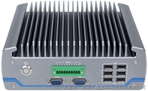 研凌I-604ntel®第六代Core™ i3/i5/i7无风扇嵌入式工控机