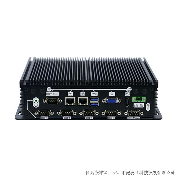 研凌IBOX-702  J1900 四核处理器 无风扇工业计算机