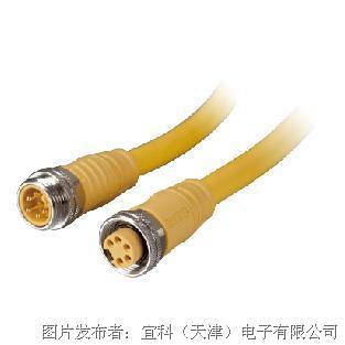 宜科 八分之七辅助电源预铸电缆(DeviceNet)