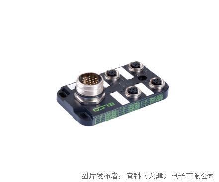 宜科资料分线盒ESP4系列M12接口-M23连接器式出线