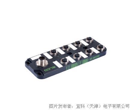 宜科 塑料分线盒ESP8系列M12接口-M12连接器式出线