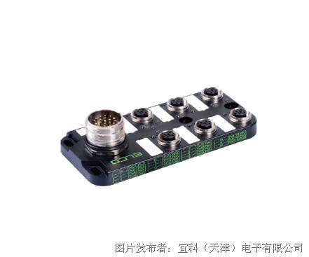宜科 塑料分线盒ESP6系列M12接口-M23连接器式出线