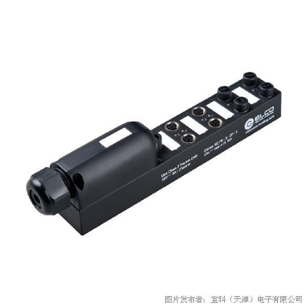 宜科分线盒-塑料(ECP8系列M8接口端子现场接线型) 电磁阀专用