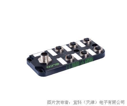 宜科 塑料分线盒ESP6系列M12接口-M12连接器式出线