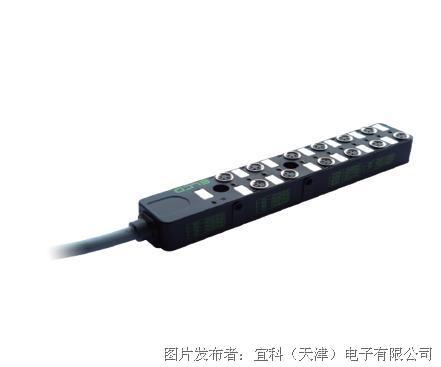 宜科 塑料分线盒ESP12系列M8接口-直接出线