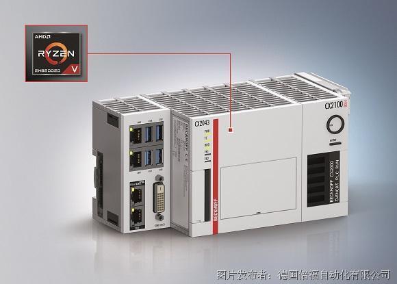 倍福CX20x3: 搭載 AMD 處理器的嵌入式控制器系列