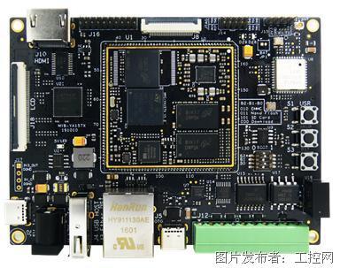 米尔超高性价比单片机,linux二合一STM32157开发板