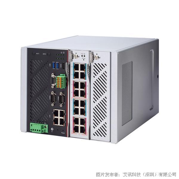 艾讯科技导轨式模块化网络平台iNA600