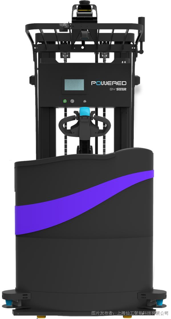 基于SRC的激光SLAM平衡重堆垛式自动叉车 SFL-CPD15-T