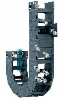 易格斯 拖链E4/轻型拖链-15150系列