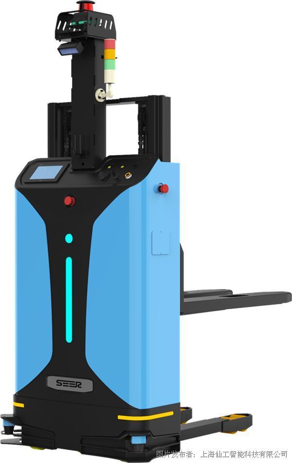 基于SRC的激光SLAM小型堆高式自动叉车