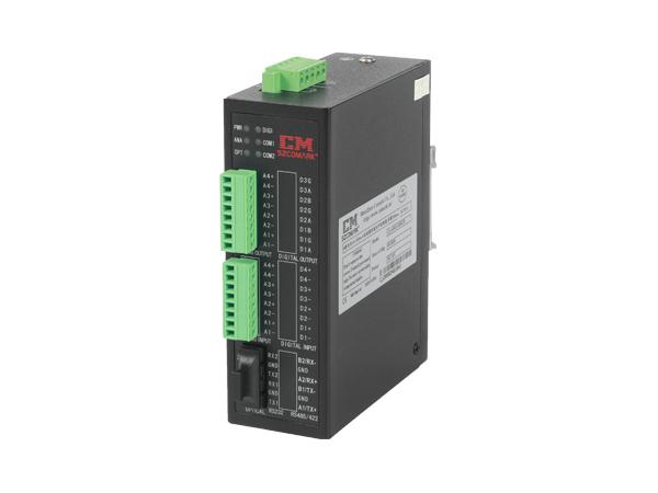 一路单向0-10VDC电压模拟量光纤转换器