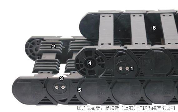 易格斯 轮式拖链-P4.32系列