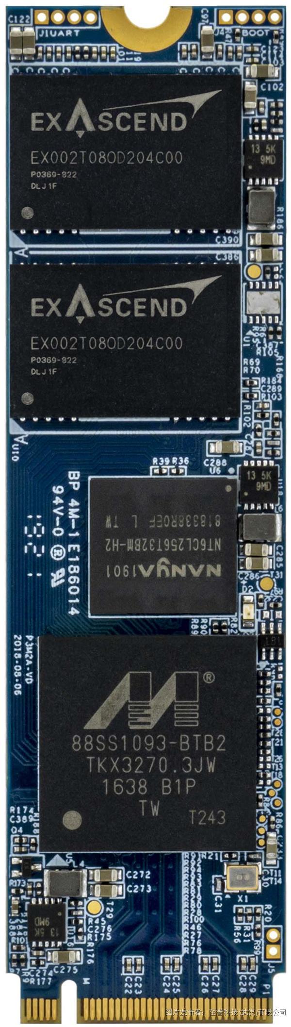 至誉科技   PCIe Gen3x4 SSD 工业级 PE3 系列