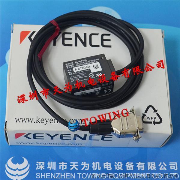 基恩士KEYENCE 超小型激光式条码读取器BL-601HA