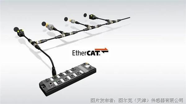 图尔克  用于ETHERCAT协议的快速RFID I/O模块