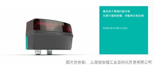 倍加福新推R2300 3D多层激光扫描仪