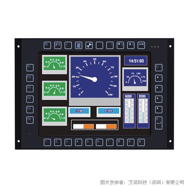 艾訊科技 列車控制與管理觸控平板系統