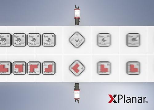 XPlanar通过基于软件360度旋转为平面电机驱动系统提供额外自由度