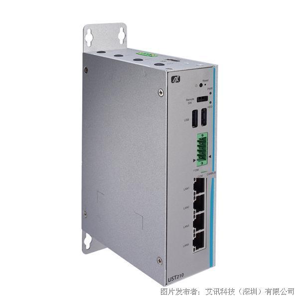 艾訊科技 車載物聯網網關專用UST210-83K-FL無風扇嵌入平臺