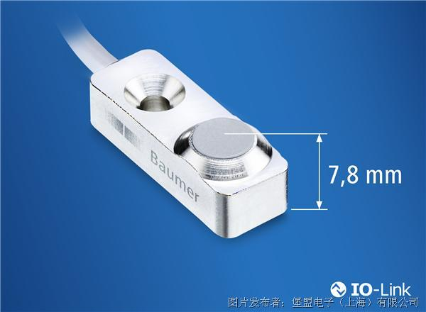 堡盟 测量范围为3mm的微型电感式传感器