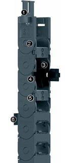 易格斯 E2微型拖鏈-E2C. 10系列