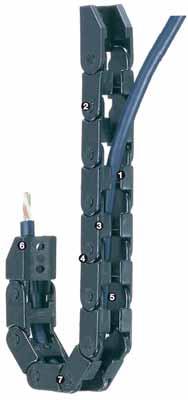 易格斯 方便型拖鏈 - E04系列