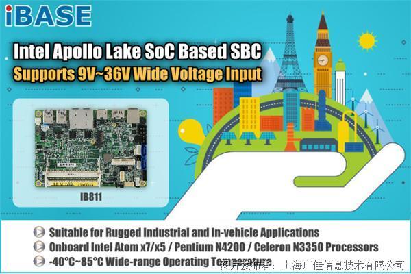 """廣積科技 3.5"""" SBC單板電腦IB811"""