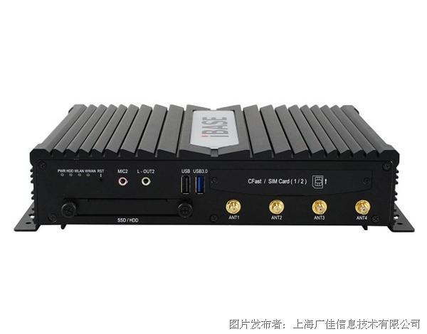 廣佳信息MPT-3000V E-mark認證 與冗余WWAN車載控制器