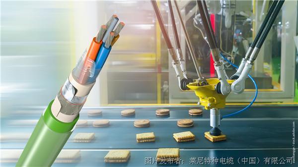 莱尼 适用于食品行业的双护套工业以太网电缆