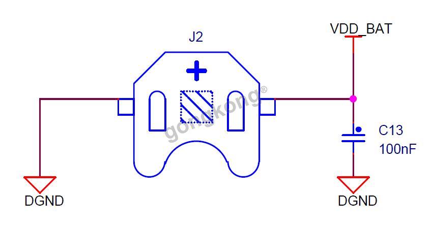 rtc 充电电池电路