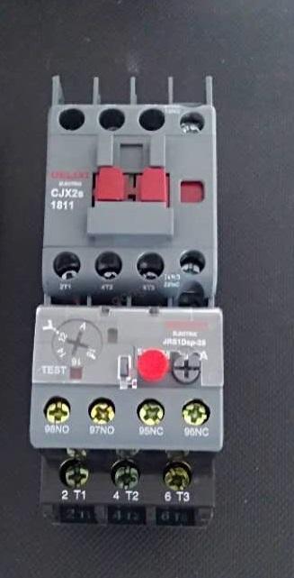 德力西电气新品试用# cjx2s接触器jrs1d热继电器试用