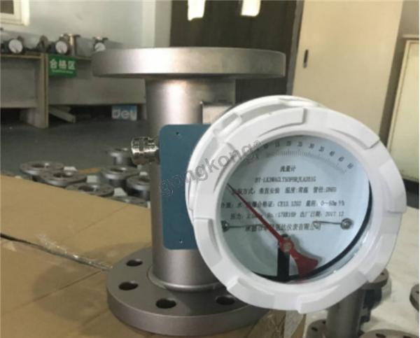 bf  系列金属管浮子流量计以其结构合理,坚固耐用,压力损失小,测量