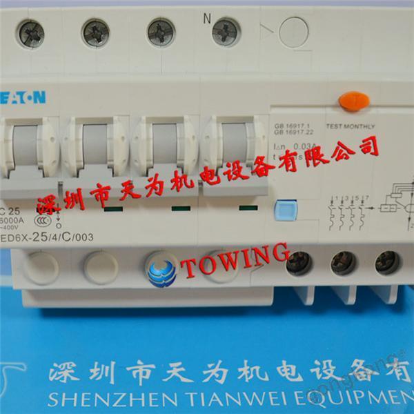 ETN伊顿ED6X-20 2 C 003断路器