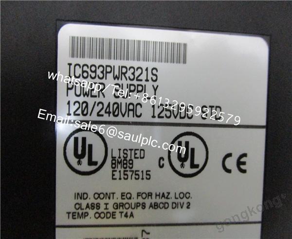GE IC693PWR321  s
