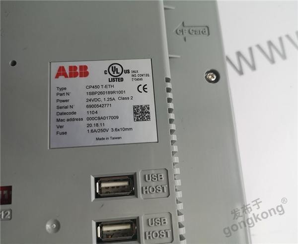 ABB TK852V010 3BSC950342R1/A