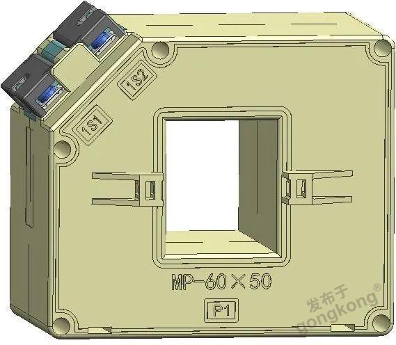 测量保护一体式电流互感器 AKH-0.66/MP-60*50 300/5