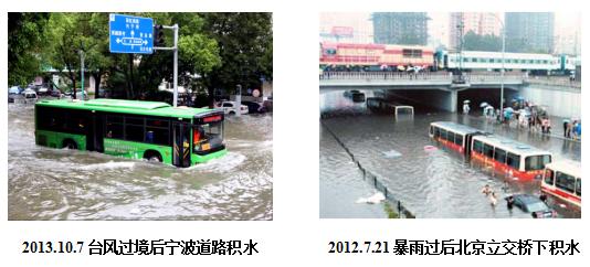 积水监测预警、道路积水监测预警系统解决方案
