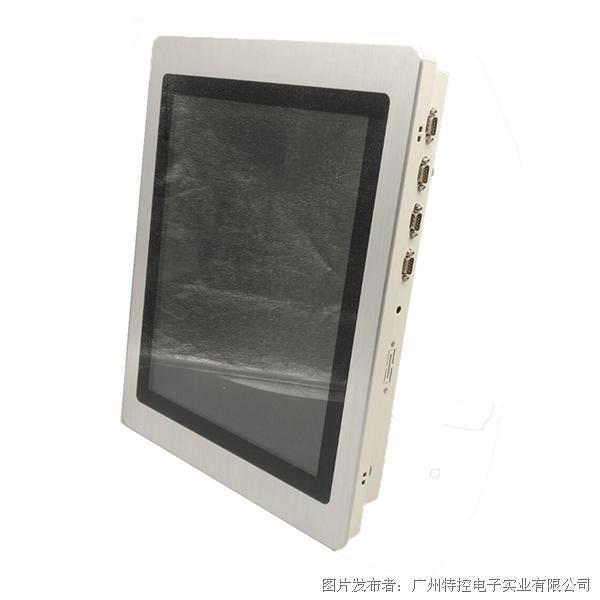 广州特控推出高性能多扩展17寸工业平板电脑 可定制