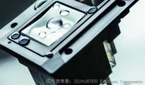 SCHURTER 推出IP67級防水 IEC 插座和斷路器