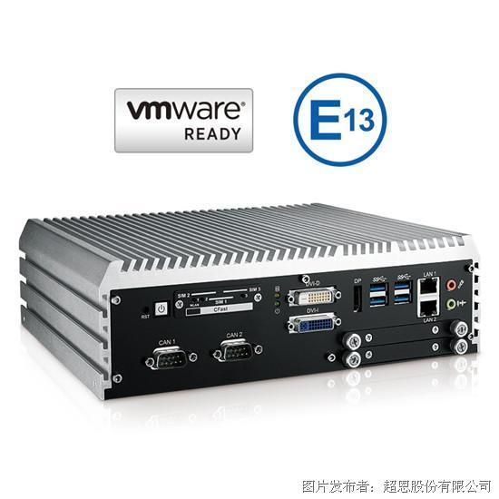 超恩ECS-9000系列强固型嵌入式工作站取得E Mark认证